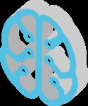 Illustration Gehirn Nutzen Daten DatenMarktplatz NRW
